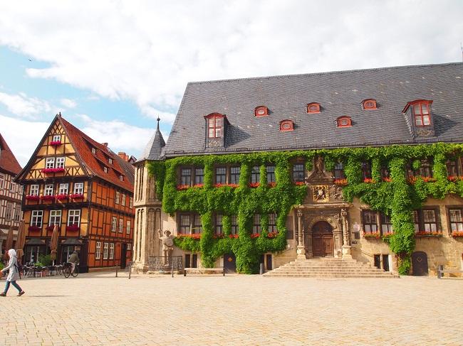 【世界遺産】1300もの木組みの家が並ぶ美しい町クヴェトリンブルク