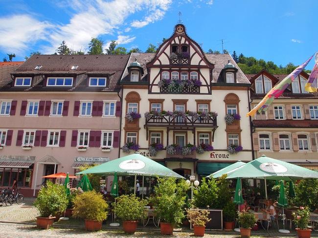 南西ドイツ旅行(6)黒い森の小さな町アルピルスバッハ、シルタッハ、ヴォルファッハ