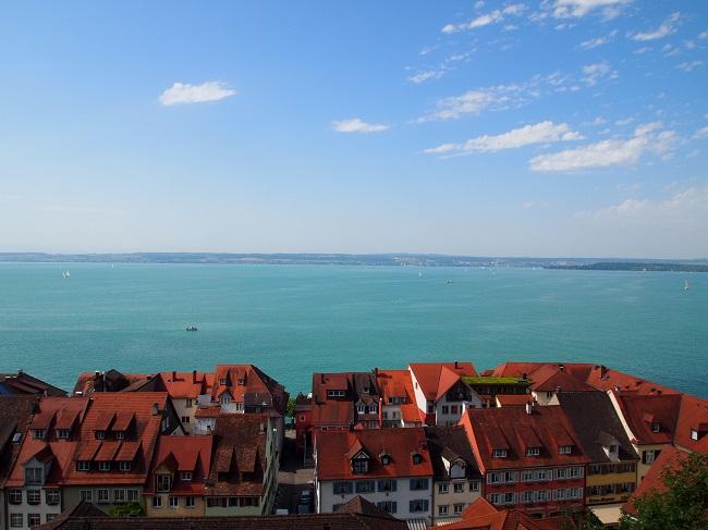 南西ドイツ旅行(9)メーアスブルクで古城、飛行船博物館、旧市街