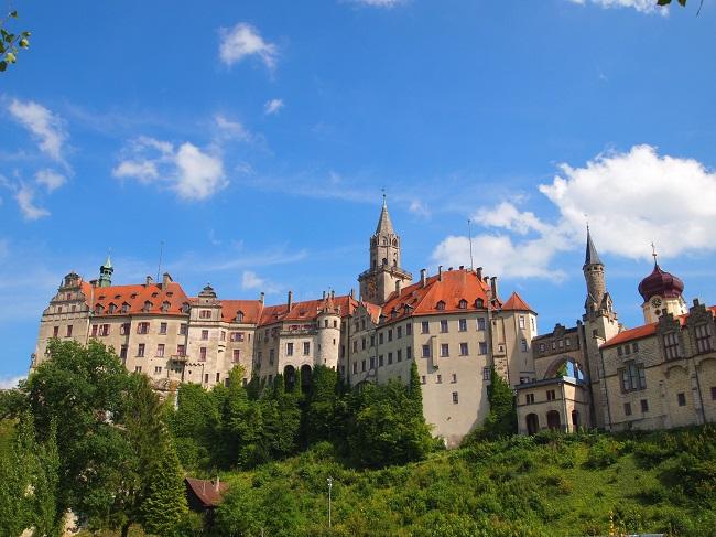 南西ドイツ旅行(10)ドナウ川のほとりに佇む美しいジグマリンゲン城