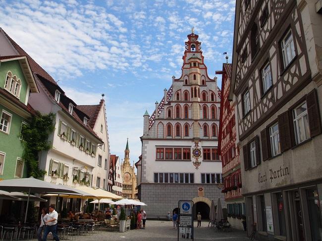南西ドイツ旅行(11)バロック街道の町ビーバーラッハ、バート・ヴァルドゼー
