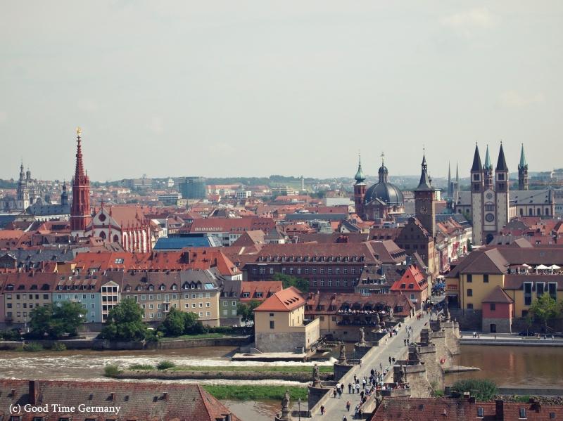 ロマンティック街道の出発点 ヴュルツブルクの観光情報