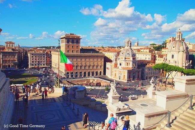 7年ぶりのローマ ローマの建築はどれもケタ違いの大きさと美しさ