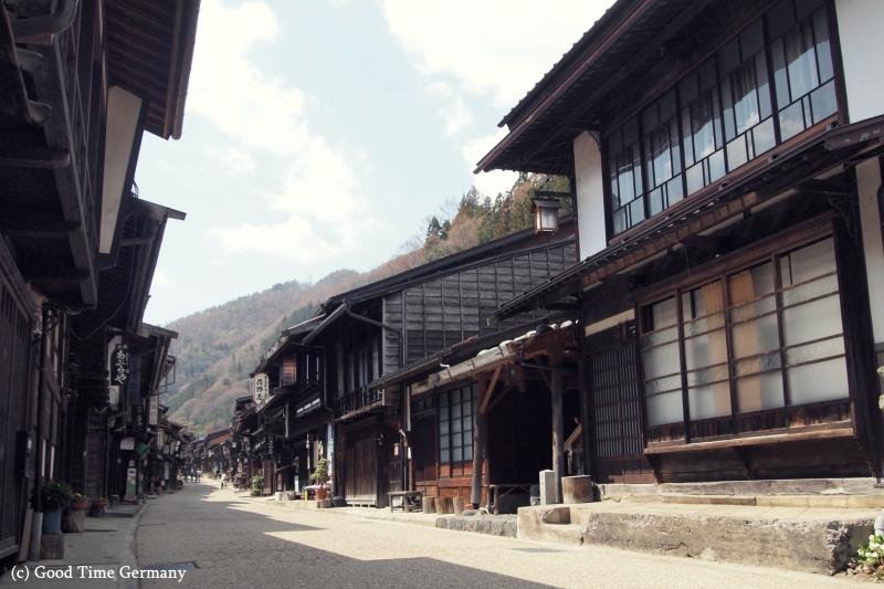 懐かしい風景がのこる奈良井宿で江戸時代へタイムスリップ