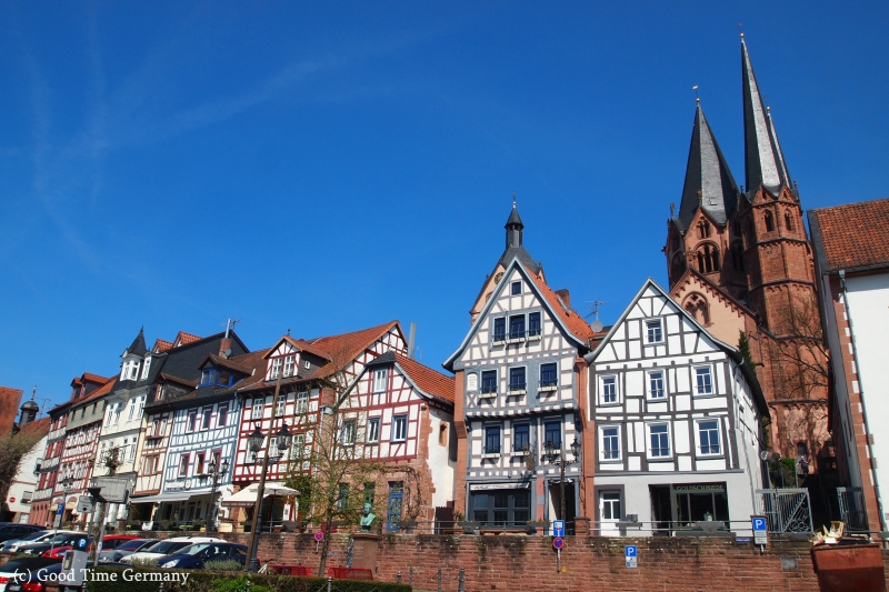 木組みの家が可愛すぎる!フランクフルト近郊の町ゲルンハウゼン