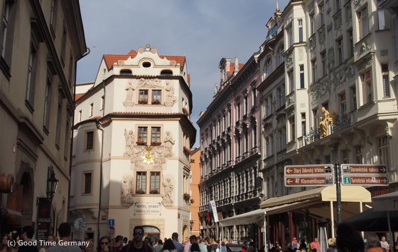 カレル橋から徒歩5分 プラハ観光で立地重視ならホテル「オロス」がおすすめ