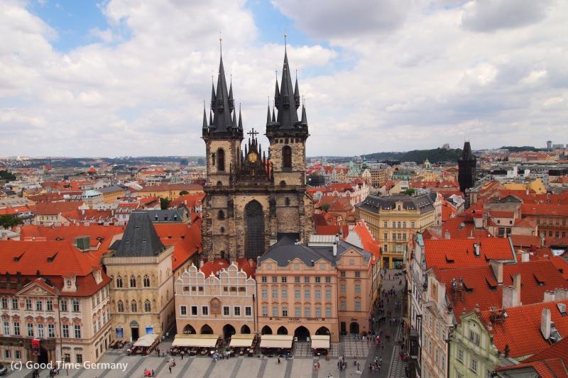 1泊2日でプラハ観光 短期滞在でプラハ旧市街を満喫できるおすすめプラン