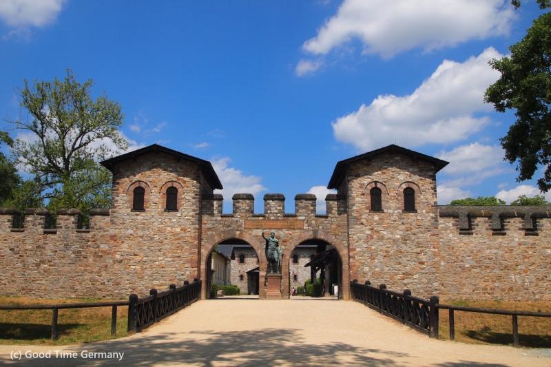 【ドイツ世界遺産】ローマ帝国の国境線(リメス)にあるザールブルク城砦