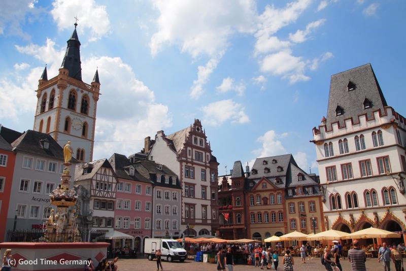 世界遺産とドイツワイン発祥のまちトリーア
