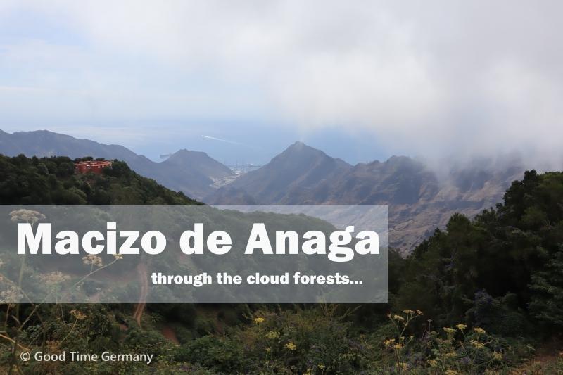 絶景を見ながらのドライブや森でのハイキングが楽しめるアナガ山