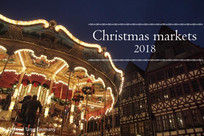 ドイツのクリスマスマーケット 2018年の開催期間まとめ