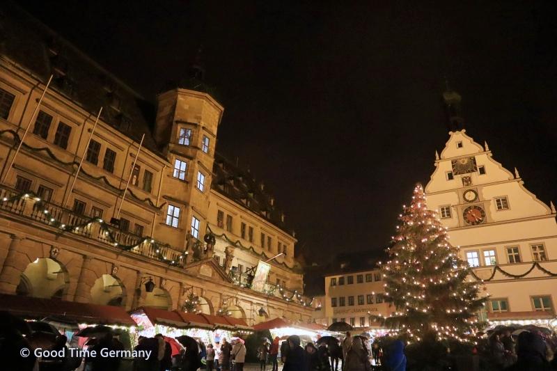 500年の歴史 中世の町ローテンブルクのクリスマスマーケット