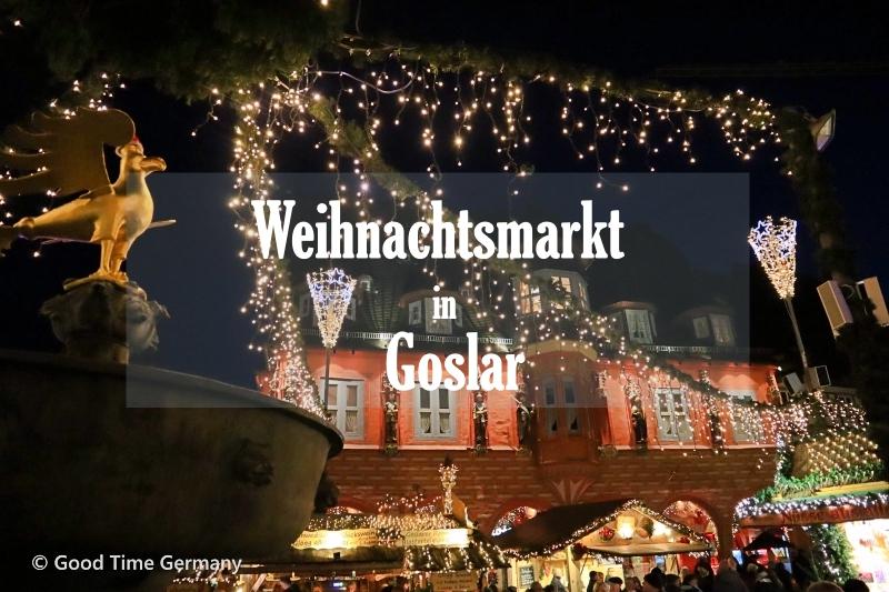ハルツ地方の古都ゴスラーのクリスマスマーケット