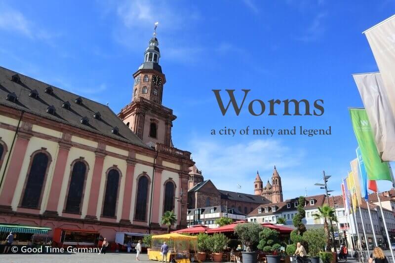 「ニーベルンゲンの歌」の舞台となった町ヴォルムスと、世界遺産ロルシュ修道院