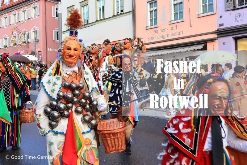 お茶目なドイツ版「ナマハゲ」が登場するロットヴァイルのカーニバル