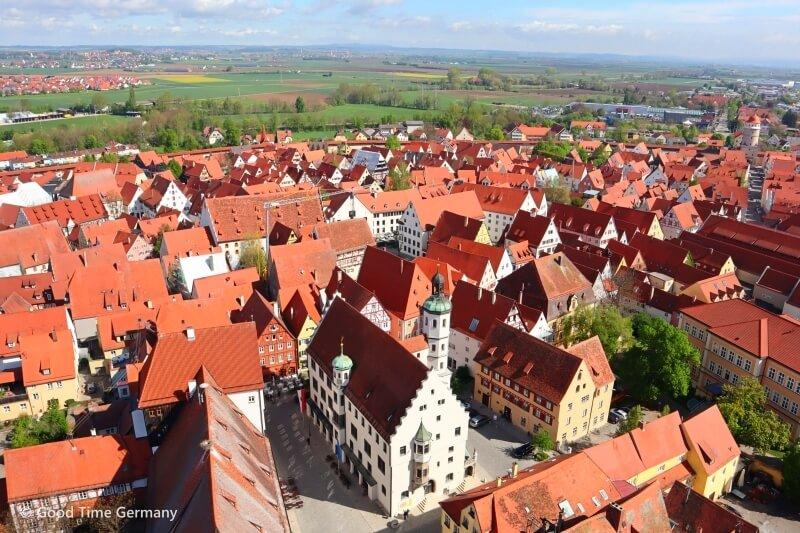 ネコ職員がお出迎え 城壁に囲まれた美しい町ネルトリンゲン