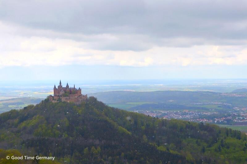 ホーエンツォレルン城 絶景スポットへのアクセス【ホテルZollersteighofから】