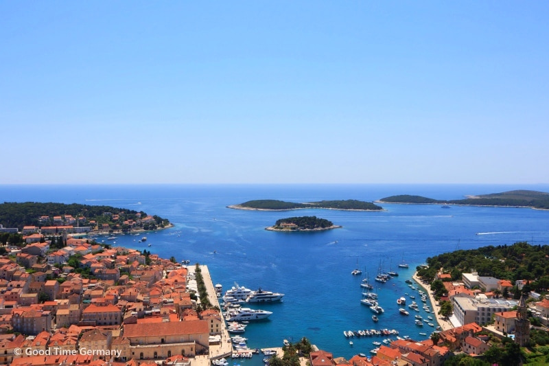 【クロアチア】絵画のように美しいフヴァル島での1泊滞在