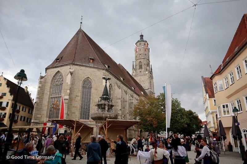 旧市街が中世へタイムスリップ ネルトリンゲンの歴史城壁祭レポート