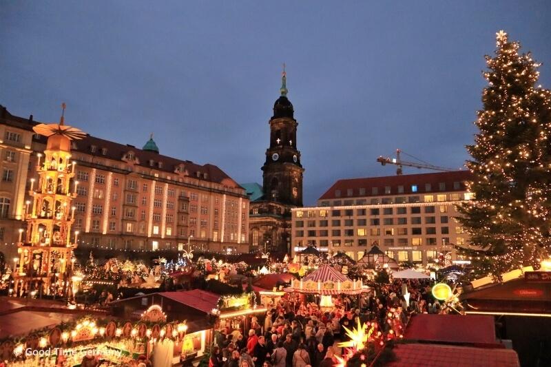 ドレスデンのクリスマスマーケット 中世マルクトや巨大シュトレンも登場!