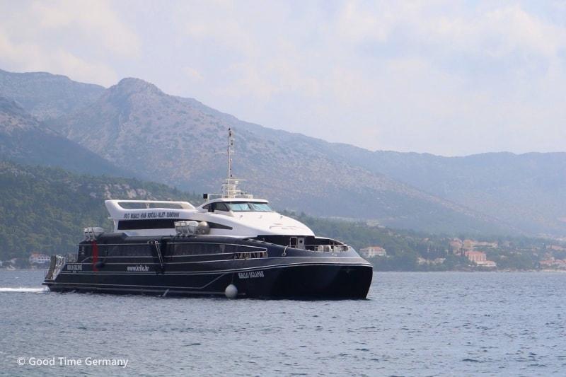 【クロアチア】船の予約方法と乗船での注意