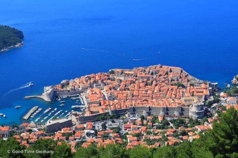 クロアチアとモンテネグロで見た絶景5選