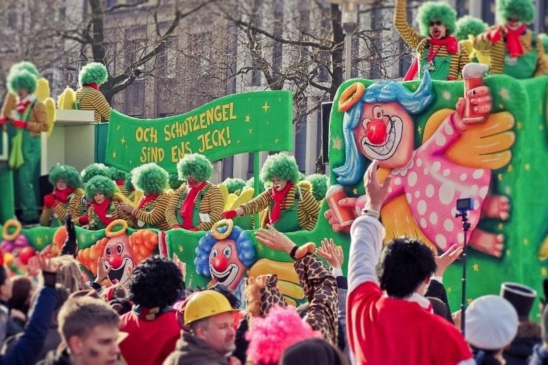 【ドイツのお祭り】カーニバルの歴史、スケジュールと楽しみ方