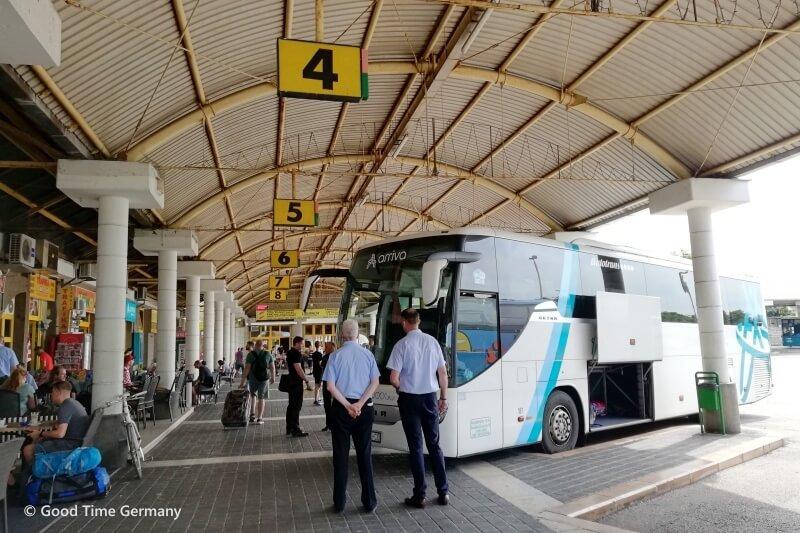 【クロアチア】長距離バスの予約方法と利用時の注意点