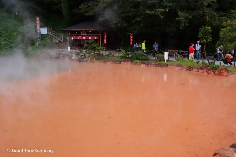 地獄温泉 血の池地獄