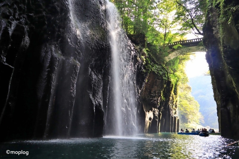 高千穂峡で貸しボートに乗ってから熊本へ【九州4日目】