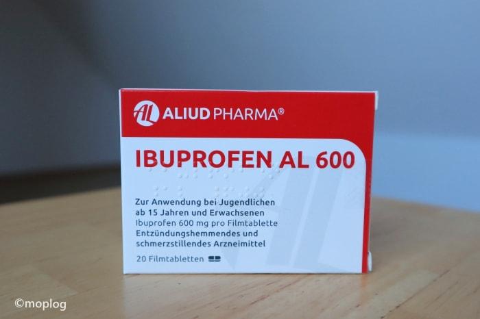 ドイツで親知らず抜歯 痛み止めイブプロフェン