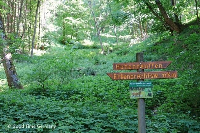 ホーエンノイフェン城 ハイキングコース