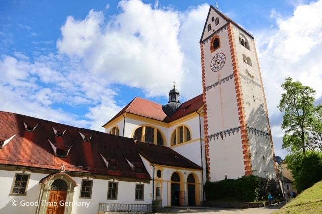 フュッセン 聖マンク修道院