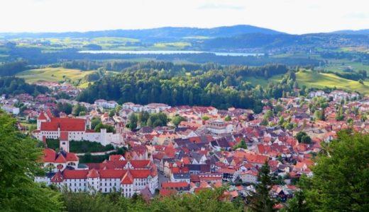 【フュッセン観光】街並みやお城が見渡せるカルヴァリエンベルクの巡礼路