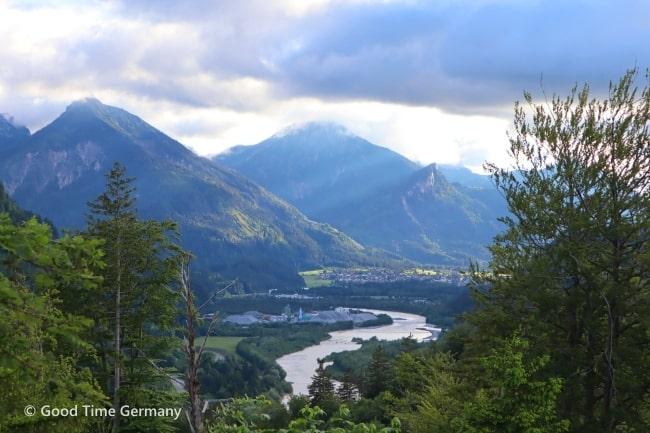 フュッセン カルヴァリエンベルク山頂から