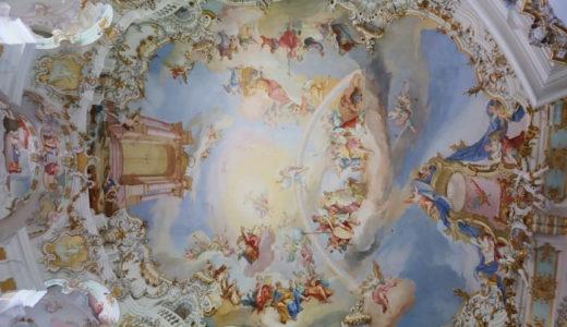 世界遺産の「ヴィース教会」 年間100万人を魅了するドイツ・ロココの最高傑作