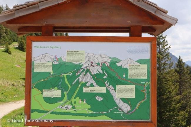 テーゲルベルク ハイキングコース