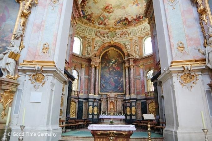 エッタール修道院 主祭壇