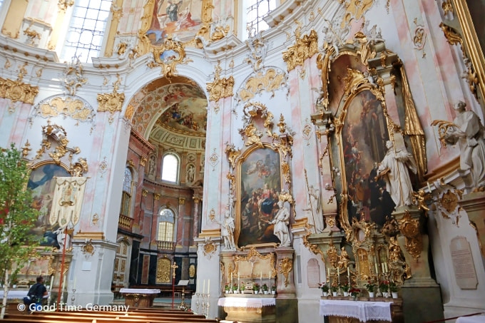 エッタール修道院 副祭壇