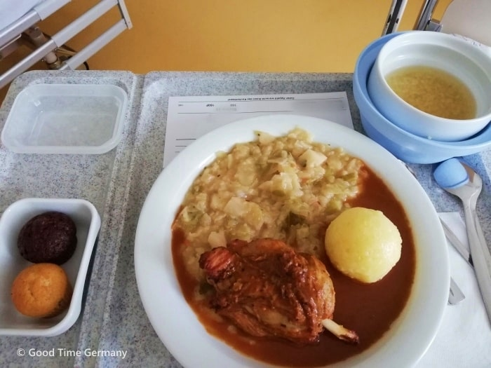 ドイツ 病院食