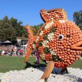 ルートヴィヒスブルク城で開催される世界最大のかぼちゃ祭り