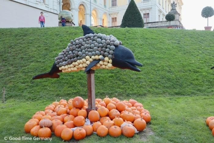 ルートヴィヒスブルク城 かぼちゃ祭り